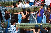 MEXICO, SEMANA SANTA Taxco; procession of penitents