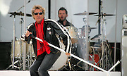 25/6/2005.Rod Stewart pictured on stage at the Source Festival at Nowlan Park in Kilkenny on Saturday night.Picture Dylan Vaughan