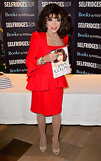 OCT 26 2013 Joan Collins book signing