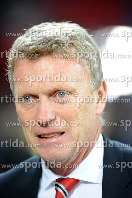 27.11.2013, BayArena, Leverkusen, GER, UEFA CL, Bayer Leverkusen vs Manchester United, Gruppe A, im Bild Trainer David Moyes ( Manchester United / Portrait ) // during UEFA Champions League group A match between Bayer Leverkusen vs Manchester United at the BayArena in Leverkusen, Germany on 2013/11/28. EXPA Pictures &copy; 2013, PhotoCredit: EXPA/ Eibner-Pressefoto/ Thienel<br /> <br /> *****ATTENTION - OUT of GER*****