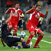 Shocking football injury
