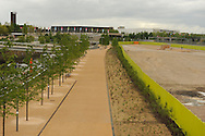 LONDON, ENGLAND - Wednesday 7 May 2014, a general view of the Queen Elizabeth Olympic Park in Stratford, London, host city of the London 2012 Olympic Games<br /> Photo by Roger Sedres/ImageSA