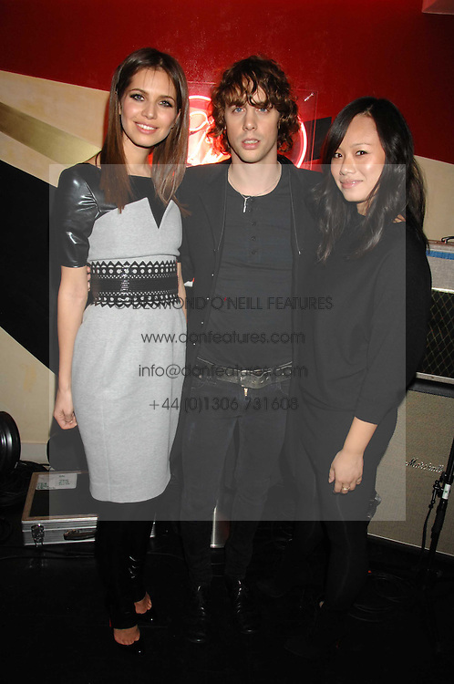 Left to right, DASHA ZHUKOVA, JOHNNY BORRELL and CHRISTINA TANG at a party to celebrate the launch of the Kova &amp; T fashion label and to re-launch the Harvey Nichols Fifth Floor Bar, held at harvey Nichols, Knightsbridge, London on 22nd November 2007.<br /><br />NON EXCLUSIVE - WORLD RIGHTS