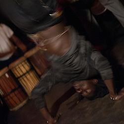 "Washington, DC  - Basher dances to Farafina Kan at Tropicalia for Asheru's ""Sleepless in Soweto"" album release party."