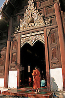 Like most temples in Thailand, Wat Pantao also serves as a school for novice monks.  Not only do temples in Thailand offer school instruction, but serve as neighborhood or community centers as well.