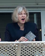 JUL 19 2014 Home Secretary Theresa May,Newbury races