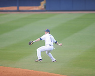 Ole Miss' Preston Overbey (1) vs. Rhode Island at Oxford-University Stadium in Oxford, Miss. on Friday, February 22, 2013. Ole Miss won 8-1 to improve to 5-0.
