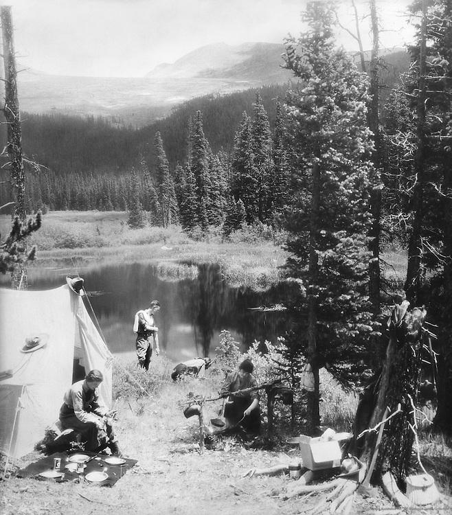 Campsite, Arizona, 1926