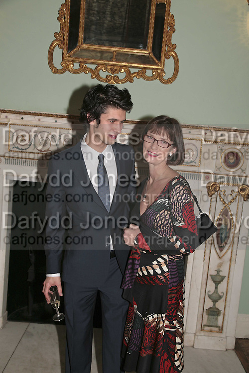 BEN WHISHAW AND HIS MO...