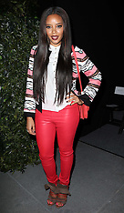 FEB 10 2013 Celebrities at Tracy Reese show at New York Fashion Week A/W 13