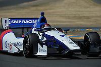 Mikhail Aleshin, Sonoma Raceway, Sonoma, CA USA 8/24/2014