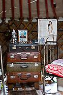 MN341 Inside mongol homes