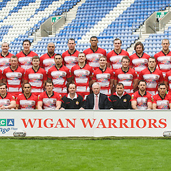 100128 Wigan Warriors Team Presentation