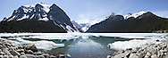 Lake Louise Panoramic, Banff National Park, Alberta, Canada