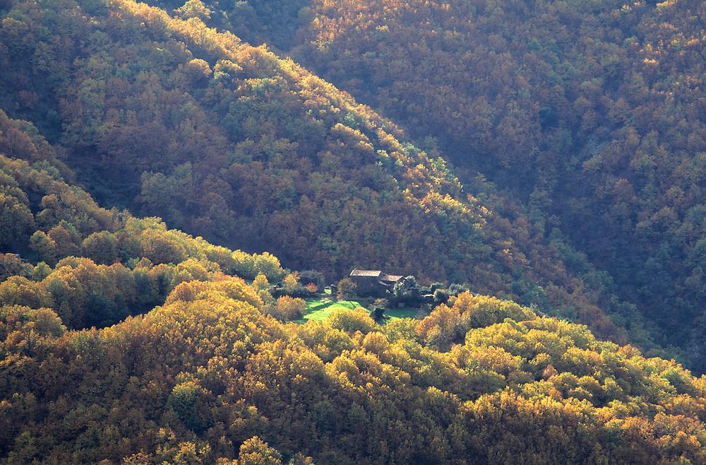 France, languedoc Roussillon, Gard, Cévennes, vallée du Rieutord