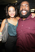 l to r: Alice Smith and Quest?Love at The OkayPlayer Hoiliday Jammy presented by OkayPlayer and Frank Magazine held at BB Kings on December 18, 2008 in New York City..The Legendary Roots Crew gives back to fans with All-Star line-up of Special Guests to celebrate upcoming Holiday Season.