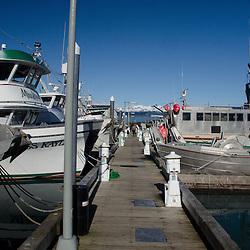 Marina, Cordova, Alaska, US
