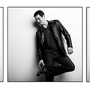 Portraits of stand up comedian and actor, Allan Lindsay.