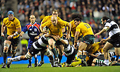 20111126 Baa Baa's vs Australia, Twickenham. United Kingdom