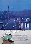 American Express, Istanbul, Turkey, Emergency Funds