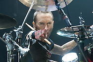 Godsmack's Shannon Larkin at Arco Arena in Sacramento, CA 11-2-2010