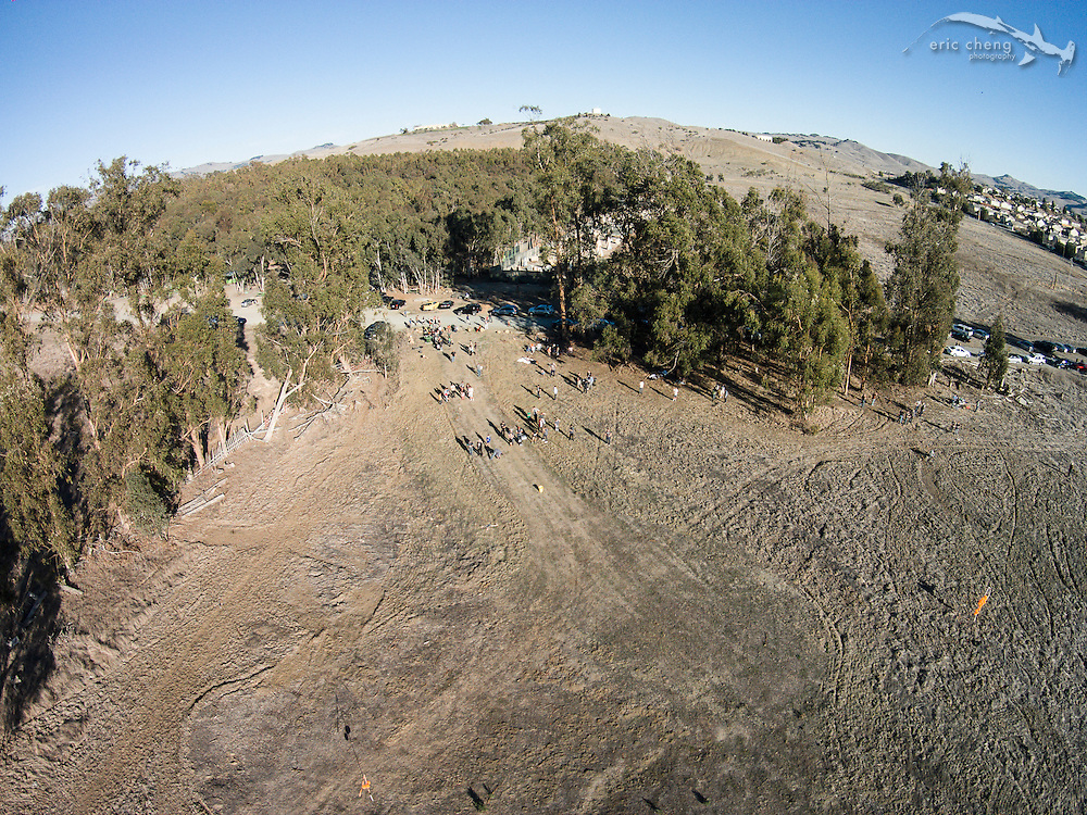 Make Magazine drone fly-in, January 20, 2014. DJI Phantom 2 Vision, shot in DNG