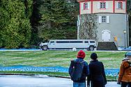 13-1-217 -  Insel Mainau -<br /> Wedding of Countess Diana Bernadotte of Wisborg and Stefan Dedek , Bettina Countess Bernadotte and her brother Bjoern Count Bernadotte , Countess Bettina Bernadotte, husband Philipp Haug, Christian Count Bernadotte of Wisborg, Catherina Ruffing Countess Bernadotte of Wisborg and Romuald Ruffing, bride Countess Diana Bernadotte and groom Stefan Dedek, Bjorn Graf Bernadotte and wife Countess Sandra, Philipp Haug and Bettina Bernadotte of Wisborg, Countess Diana Bernadotte of Wisborg, Sandra Gr&auml;fin Bernadotte and Catherine Ruffing Gr&auml;fin Bernadotte<br /> 13-1-217 - Insel Mainau -<br /> Bruiloft van Gravin Diana Bernadotte van Wisborg en Stefan Dedek, Bettina Gravin Bernadotte en haar broer Bjoern graaf Bernadotte, Gravin Bettina Bernadotte, echtgenoot Philipp Haug, Christian graaf Bernadotte van Wisborg, Catherina Ruffing Gravin Bernadotte van Wisborg en Romuald Ruffing, bruid gravin Diana Bernadotte en bruidegom Stefan Dedek, Bjorn Graf Bernadotte en vrouw gravin Sandra, Philipp Haug en Bettina Bernadotte van Wisborg, Gravin Diana Bernadotte van Wisborg, Sandra Gr&auml;fin Bernadotte en Catherine Ruffing Gr&auml;fin Bernadotte<br /> <br />  Insel Mainau - Hochzeitsfeierlichkeiten auf der Insel Mainau Diana Gr&auml;fin Bernadotte und Stefan Dedek haben sich am 8. August 2016 im engsten Kreis in Konstanz standesamt- lich trauen lassen. Am Freitag, dem 13. Januar 2017, werden die 34j&auml;hrige Modistin und der 27j&auml;hrige Koch ihre Verm&auml;hlung im Rahmen einer freien Trauung mit anschlie&szlig;endem Fest auf der Insel Mainau im Bodensee feiern. Bettina Countess Bernadotte and her brother Bjoern Count Bernadotte COPYRIGHT ROBIN UTRECHT