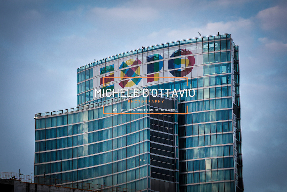 Milano, il grattacielo &quot; Palazzo Lombardia &quot;, nuova sede della Regione Lombardia.<br /> Porta Nuova-Isola-Garibaldi