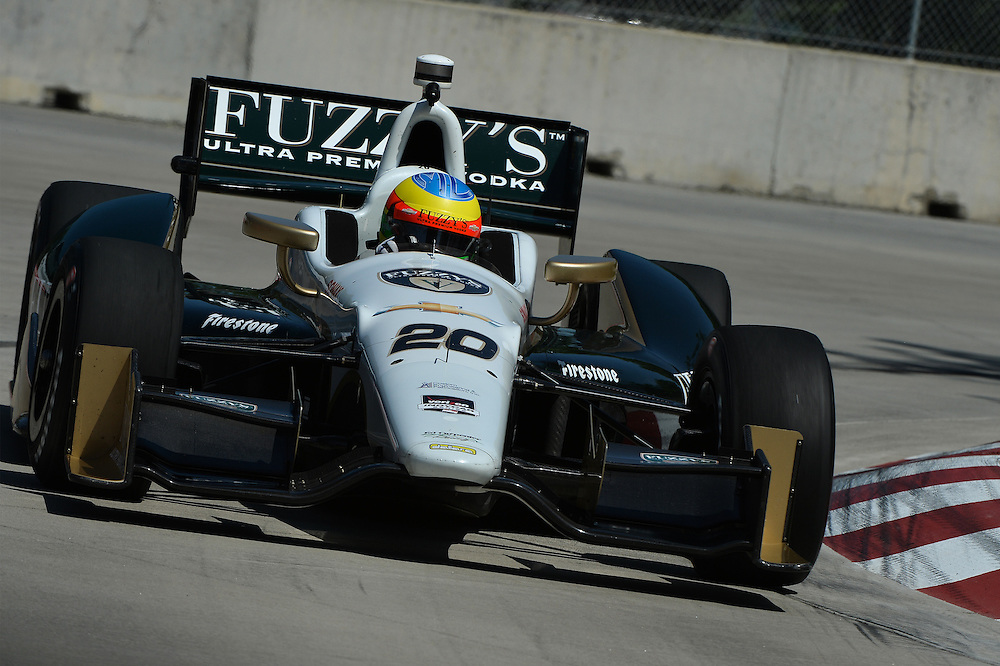 Mike Conway, The Raceway at Belle Isle Park, Detroit, MI USA 6/1/2014
