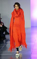 FEB 14 2014 Mark Fast show at London Fashion Week Autumn-Winter 2014