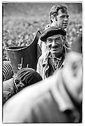 Vineyard worker, Bordeaux, France.