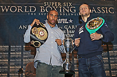 December 13, 2011: Andre Ward vs Carl Froch Press Conference