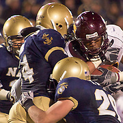 Central Michigan RB (#34) Zurlon Tipton during game between Central Michigan and Navy on a brisk Saturday afternoon at Marine Corps Memorial Stadium in Annapolis Maryland...Navy improves to 7-3, Navy will return home November 20 to face Arkansas State.