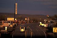 Truck on Old Route 66, Seligman, Arizona, USA