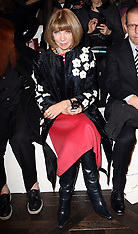 FEB 14 2013 Anna Wintour at the Ralph Lauren show in New York