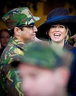 Hoogvliet, 08-04-2014<br /> <br /> Queen Maxima opened the Campus Hoogvliet.<br /> <br /> <br /> Photo:COPYRIGHT ROBIN UTRECHT