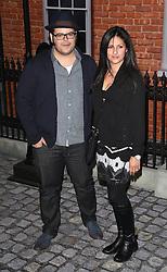 Josh Gad and guest attend Mr Holmes UK film premiere at Odeon Kensington, Kensington High Street, London on Wednesday 10 June 2015