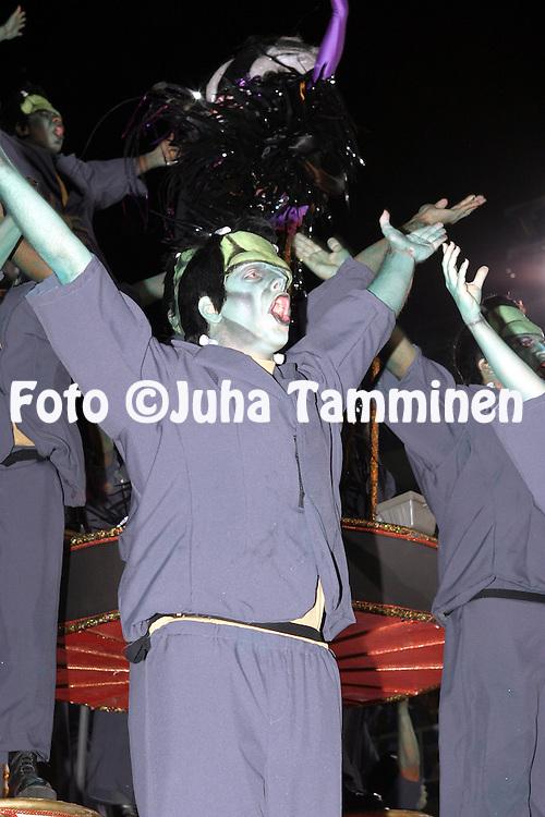 23.02.2004, Samb?dromo, Rio de Janeiro, Brazil..Carnaval 2004 - Desfile das Escolas de Samba, Grupo Especial / Carnival 2004 - Parades of the Samba Schools..Desfile de / Parade of:  GRES Unidos da Tijuca.©Juha Tamminen