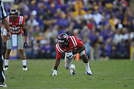 Ole Miss defensive end Channing Ward (11) vs. LSU at Tiger Stadium in Baton Rouge, La. on Saturday, November 17, 2012.....