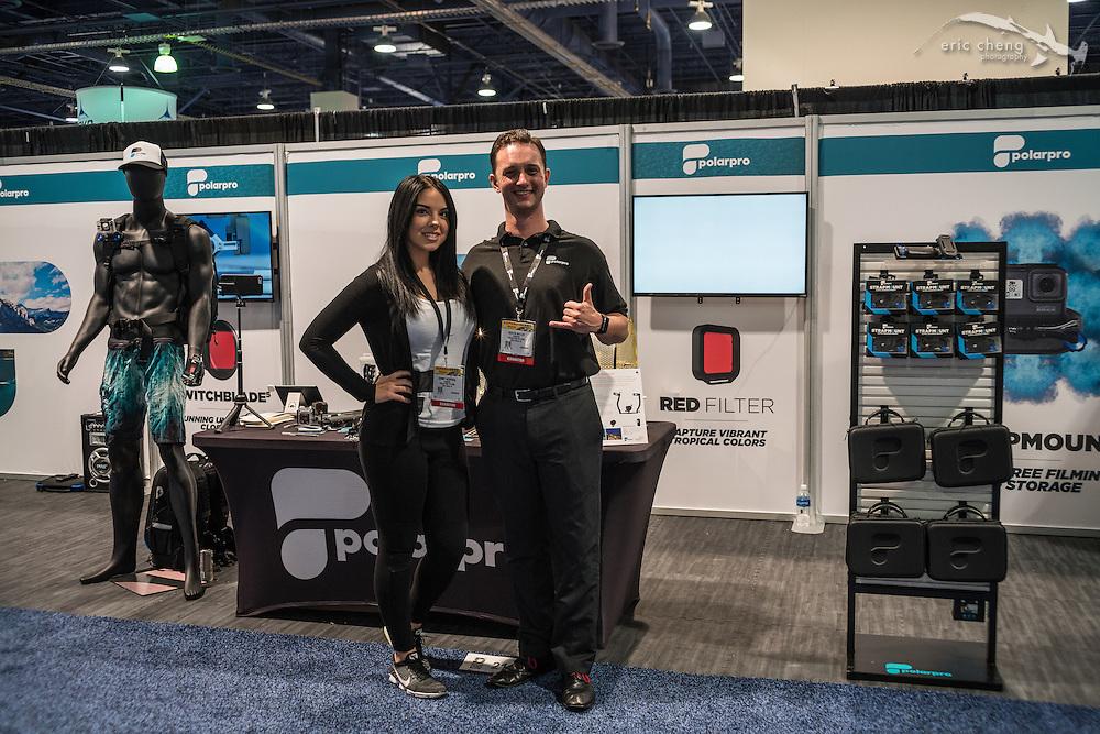 Austen Butler and Sammy McDougal, Polar Pro Filters (DEMA 2016, Las Vegas)