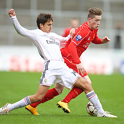 141022 Liverpool U19 v Real Madrid U19
