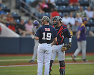 Mississippi vs. LSU in Oxford, Miss. on Friday, May 4, 2012. (AP Photo/Oxford Eagle, Bruce Newman)