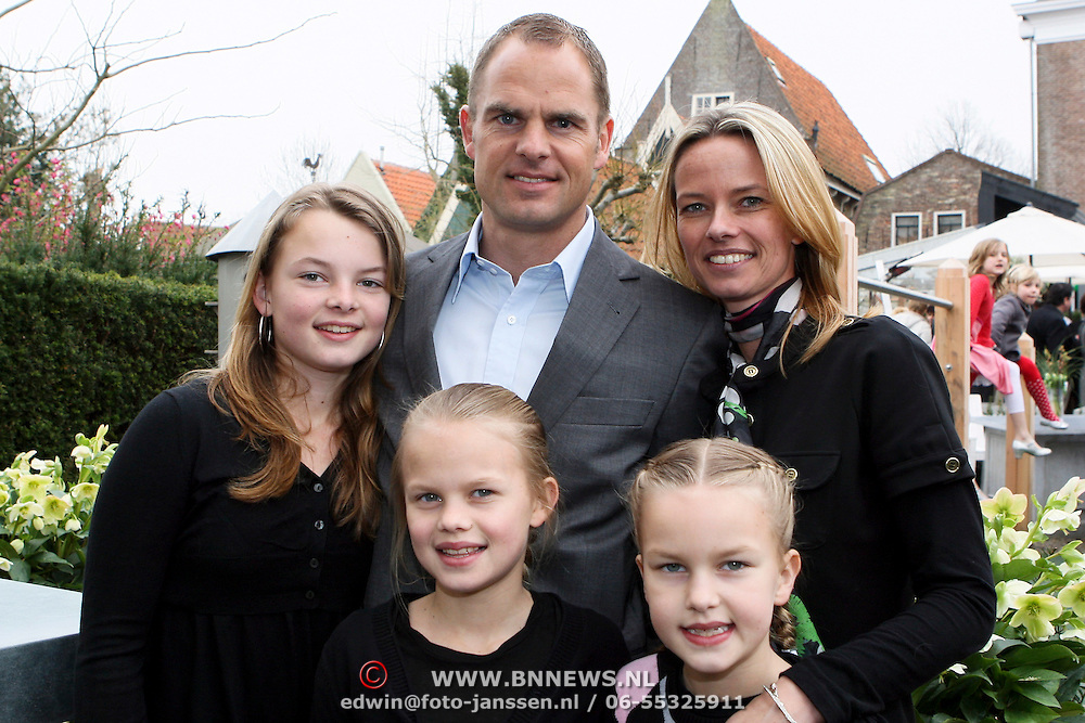 Photo of Frank De Boer & his  Daughter  Jacky de Boer