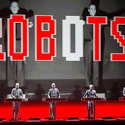 Kraftwerk at The Fox Theater - Oakland, CA - 3/23/14
