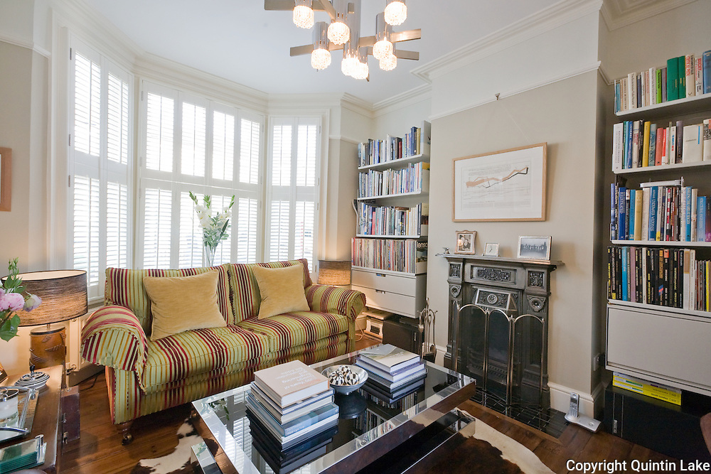Refurbishment of 74 ulverscroft road east dulwich london for Living room ideas victorian terrace
