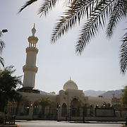 A mosque in Aqaba, Jordan, may 13, 2013. Photo by Oren Nahshon