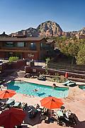 Sedona Rouge Hotel & Spa swimming pool; Sedona, Arizona.
