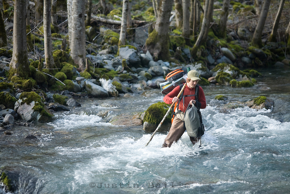 Winter wild steelhead fly fishing on the Chetco River in Southern Oregon. | Justin Bailie ...