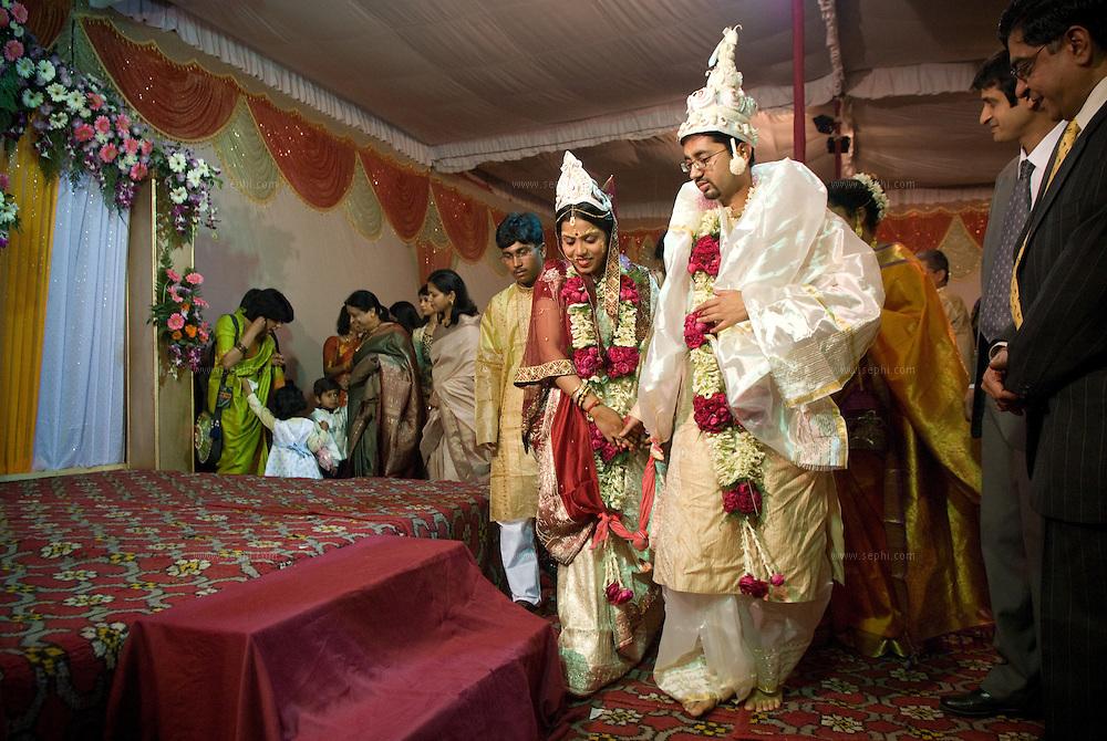 A Bengali wedding in India