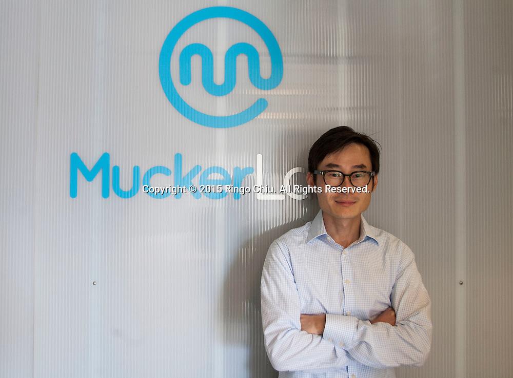 William Hsu, co-founder Mucker Capital.<br /> (Photo by Ringo Chiu/PHOTOFORMULA.com)